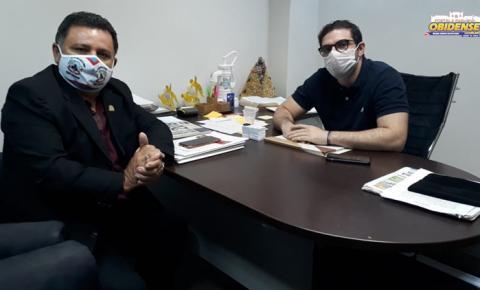 Em Belém, vereador Rosinaldo Cardoso se reúne com Deputado Igor Normando | Portal Obidense