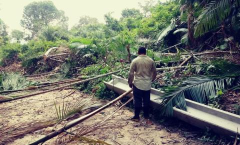 Estado de conservação de ramal atrasa energia para comunidades rurais | Portal Obidense