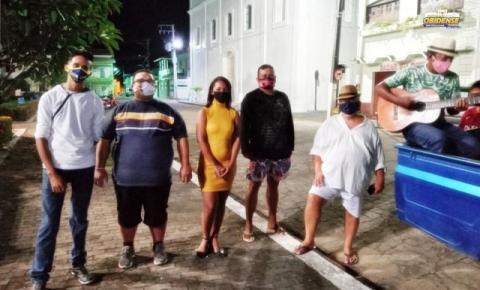Em tempo de pandemia seresta à Sant'Ana é realizada na madrugada de domingo em Óbidos | Portal Obidense