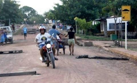 Lombadas nas ruas asfaltadas | Portal Obidense