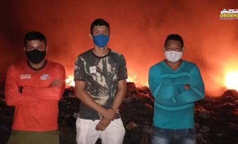 SEMA de Óbidos fiscaliza queima de lixo doméstico na cidade | Portal Obidense
