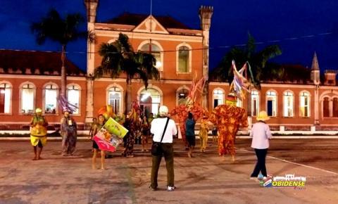 Óbidos serve de locação para documentário alusivo aos 400 anos de Belém