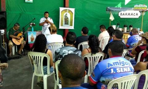 Em Manaus, obidenses se reúnem na oficina J Sena para celebrar senhora Sant´Ana | Portal Obidense