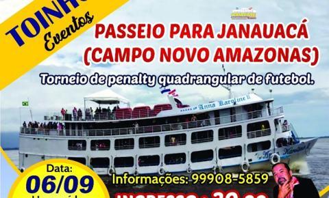 Obidenses realizam passeio de Barco em Manaus | Portal Obidense