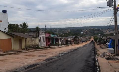 Asfalto no bairro Fátima em Óbidos | Portal Obidense