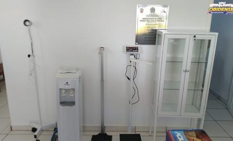 Entrega de equipamentos nas UBS das comunidades Matá e São José | Portal Obidense