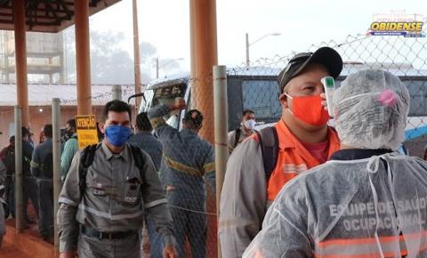 Alcoa mantém reforçadas ações de controle e prevenção à Covid-19 em Juruti
