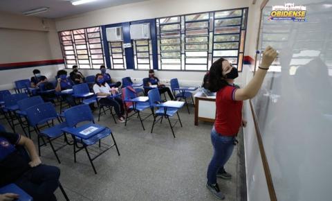 Alunos do ensino médio público voltam às aulas presenciais no Amazonas ǀ Portal Obidense
