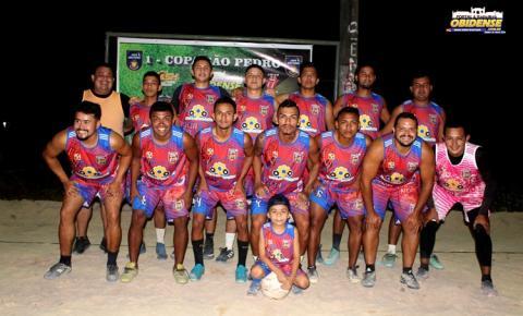 Família Nepal e Amigos do Dida, fizeram a abertura da Copa São Pedro no Nova Cidade | Portal Obidense
