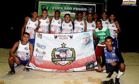 Na copa São Pedro, Amigos do Gordão vence a equipe da Família Invasão | Portal Obidense