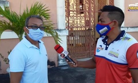 Prefeito de Óbidos fala sobre ação de bloqueio de bens | Portal Obidense