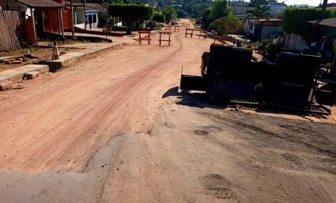 Serviço de pavimentação da Travessa Liberdade, em Óbidos, segue paralisado | Portal Obidense