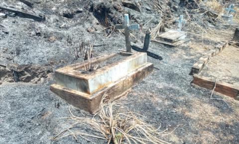Resultado do incêndio no cemitério de Óbidos | Portal Obidense
