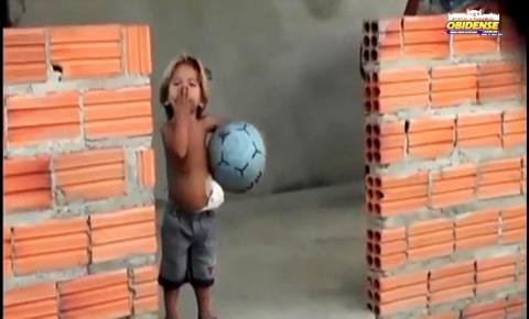Repórter do Programa Rota Óbidos, mostra a realidade de Ana Lúcia e do menino Yuri | Portal Obidense