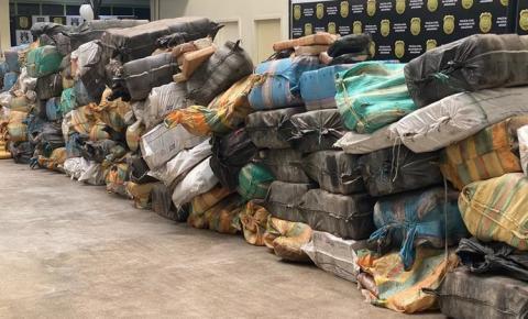 Apreensão histórica de 6 toneladas de drogas no Amazonas seria distribuída no Nordeste, diz polícia | Portal Obidense