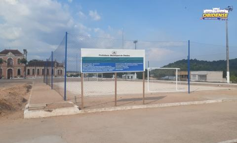 Atraso na entrega das quadras da Praça da Cultura | Portal Obidense