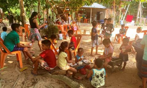 Quadrilha Coração Junino e Restaurante Explosão de Sabores promovem ação no dia das Crianças | Portal Obidense