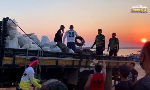 Candidato a prefeito de Oriximiná realiza ação prática e dá exemplo de preservação ambiental   Portal Obidense