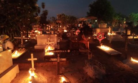 Obidenses fazem suas homenagens no Dia de Finados | Portal Obidense