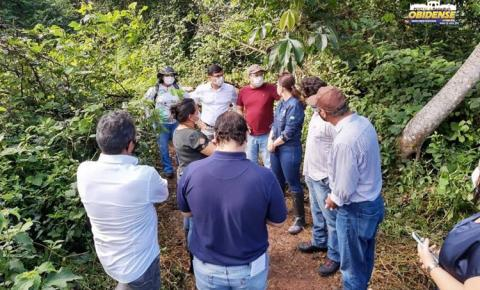 Semas visita área onde será construído o Centro de Triagem e Reabilitação de Animais Silvestres   Portal Obidense