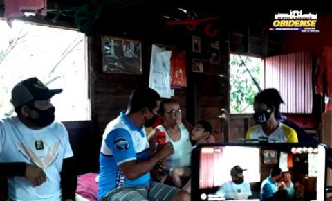 Avó pede ajuda para neto com necessidades especiais em Prainha | Portal Obidense