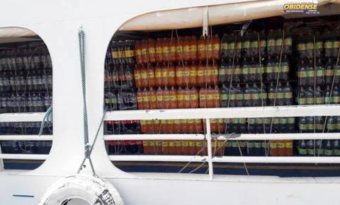 Sefa aprende milhares de garrafas de cerveja e refrigerante em Juruti e Oriximiná   Portal Obidense