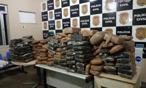 Polícia Militar faz apreensão de 294kg de droga em Santarém   Portal Obidense
