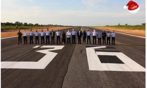 Comissão de Aeroportos da Região Amazônica inaugura obra em Oriximiná (PA) | Portal Obidense