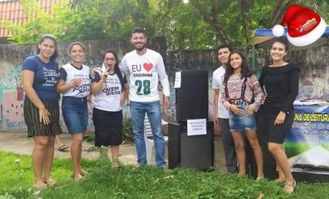 Prefeito eleito de Oriximiná empresta equipamento de som para grupo de evangelização | Portal Obidense