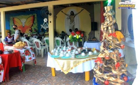 Café da manhã especial de Natal Familiares e funcionários do Frigorífico dos Amigos em Óbidos   Portal Obidense