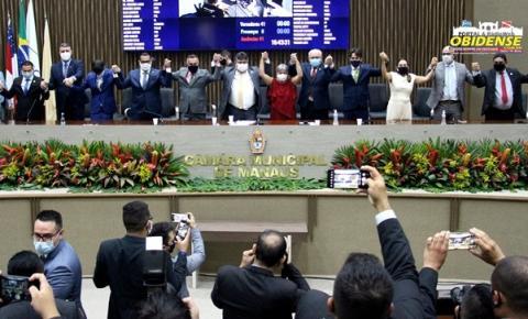 Eleições para o biênio 2021-2022 da CMM, David Reis é eleito presidente da Câmara Municipal de Manaus | Portal Obidense