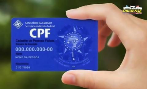 Pendências do Cadastro de Pessoa Física (CPF) podem ser regularizadas nos canais virtuais da Receita Federal | Portal Obidense