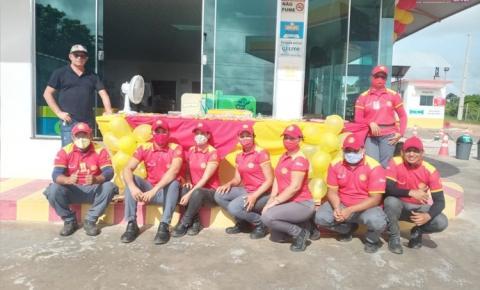 Em Óbidos Auto Posto Amigão completa 1 ano de prestação de serviços a população   Portal Obidense
