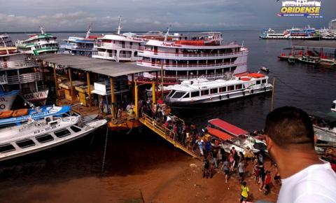 Embarcações de passageiros estão proibidas a partir desta quinta entre Pará e Amazonas | Portal Obidense