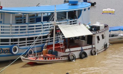 Em Óbidos Sema faz apreensão de barco pesqueiro | Portal Obidense