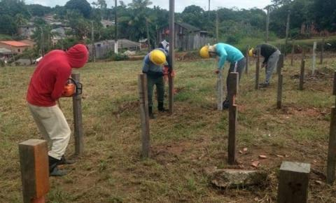 SEMMA Oriximiná dá início ao projeto horta comunitária | Portal Obidense