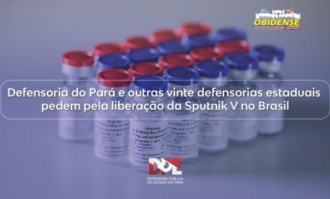 Defensoria do Pará e outras vinte defensorias estaduais pedem pela liberação da Sputnik V no Brasil | Portal Obidense