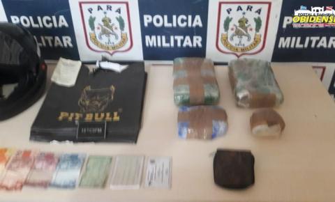 Polícia militar faz apreensão de drogas em embarcação | Portal Obidense