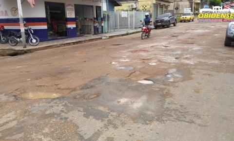 Buracos em trecho da Nelson Souza. Avenida será revitalizada | Portal Obidense