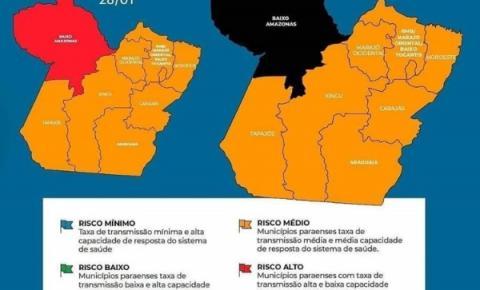 Bandeiramento na região do baixo amazonas passa de vermelho para preto   Portal Obidense