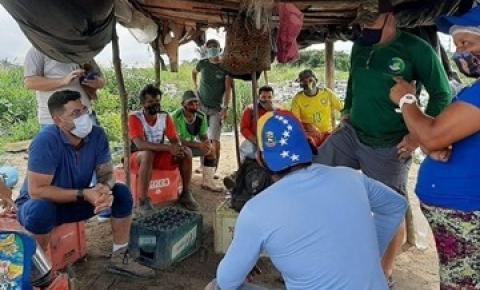 Secretaria do Interior e Semma discutem território sustentável com associação dos catadores de resíduos sólidos de Oriximiná | Portal Obidense