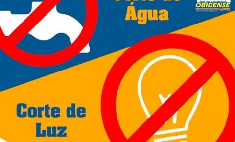 Fornecimento água, luz e internet no Baixo Amazonas não pode ser cortado, de acordo com decreto Estadual | Portal Obidense