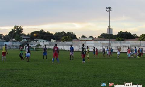 Seleção Obidense realiza o último treino antes da partida de sábado contra Oriximiná