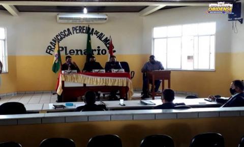 Sessão na Câmara Municipal de Curuá, homenageou mortos pela covid-19 | Portal Obidense
