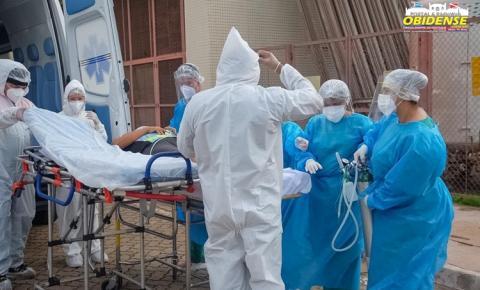 Governo já transferiu 183 pacientes com Covid-19 na região Oeste em quase 30 dias| Portal Obidense