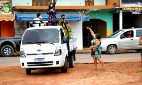 Imagem do Bom Jesus Senhor dos Passos, percorreu as ruas de Óbidos| Portal Obidense