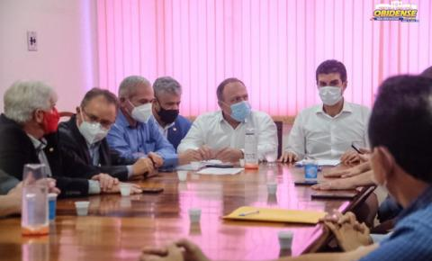 Ministro da saúde promete 1,5 milhão de doses de vacina para o estado do Pará | Portal Obidense