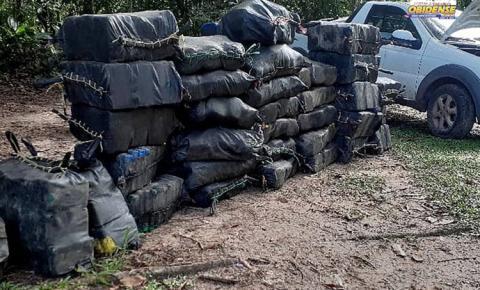 Polícias Militar e Civil apreendem mais de uma tonelada de drogas em Bujaru | Portal Obidense