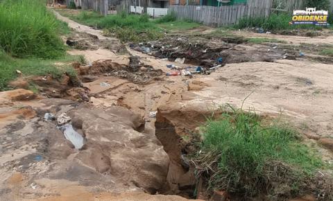 Chuvas aumentam buracos nas ruas de Óbidos| Portal Obidense