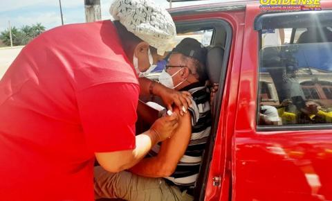 Enfermeiro Eudison Galúcio atualiza o número de vacinados contra a covid-19 em Óbidos | Portal Obidense